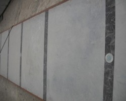 concrete and marble external floor
