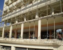 exernal repairs of buildings